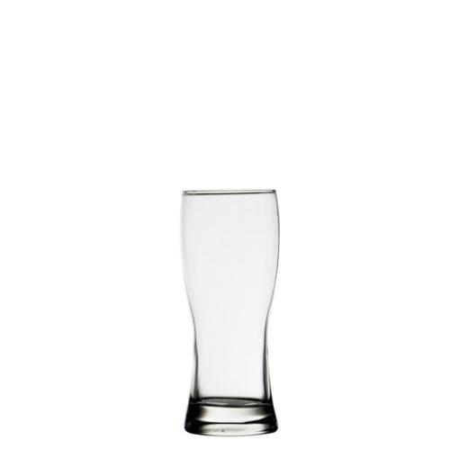 D&V Draught Budem Beer Glass 12.3oz